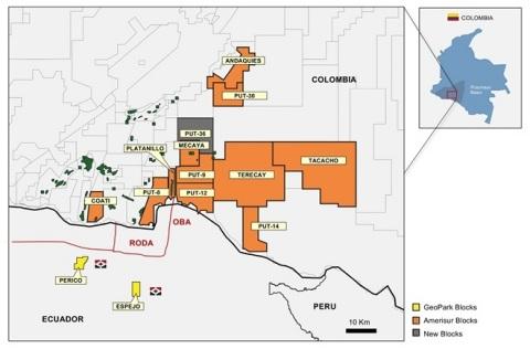Putumayo Map (Photo: Business Wire)