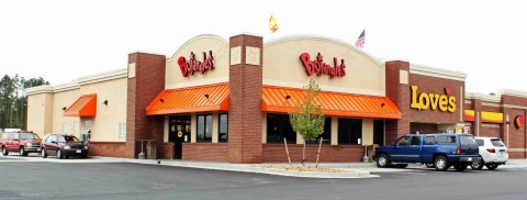The national franchise development agreement includes 40 new Bojangles' restaurants inside Love's Travel Stops across four new states for the iconic brand. (Photo: Bojangles')