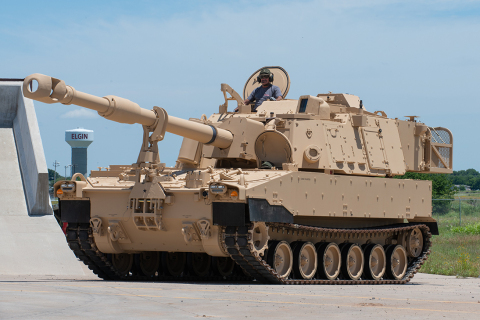 BAE Systems was awarded a $249 million contract modification by the U.S. Army for 60 additional M109A7 self-propelled howitzers and its accompanying M992A3 Carrier, Ammunition, Tracked (CAT) vehicles that will bring improved artillery capabilities to the Army's Armored Brigade Combat Teams. (Photo: BAE Systems, Inc.)