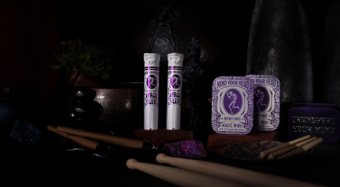 Three-time GRAMMY winner Grateful Dead drummer Mickey Hart is expanding his cannabis brand Mind Your Head with the launch of Space Ticket, a 1-gram hash-infused pre-roll. Space Ticket is inspired by the transformation and enlightenment that fans experiences at live shows. (Photo: Business Wire)