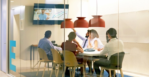 Lifesize Rooms-as-a-Service encompasses Lifesize's industry-leading video collaboration meeting room systems, cloud service, maintenance and support under more predictable pricing and with lower upfront costs. (Photo: Business Wire)