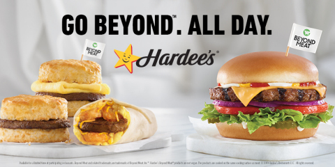Hardee's All-Day Beyond Meat Menu (Photo: Business Wire)