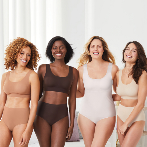 Bali intimate apparel, the leading national intimate apparel brand in department stores, has introduced Comfort Revolution EasyLite panties and shapewear to complement one of its best-selling bra styles. Innovative SmoothTec fabric technology means ultra-thin fabric that is virtually invisible under clothing and 360-degree stretch and recovery, among other features. (Photo: Business Wire)