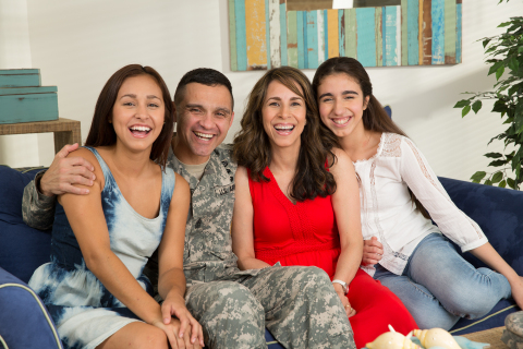 Corvias shares the joy of the holiday season with military families living across its Army and Air Force housing portfolio. (Photo: Business Wire)