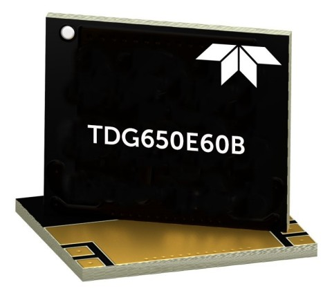 The new ruggedized 650V GaN Power HEMT from Teledyne e2v HiRel, the highest voltage GaN power device on the market for military and space applications. (Photo: Business Wire)