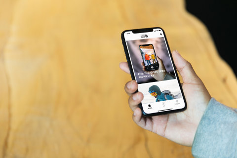 Mountain Hardwear Launches Augmented Reality Ski Kit Builder (Photo: Business Wire)