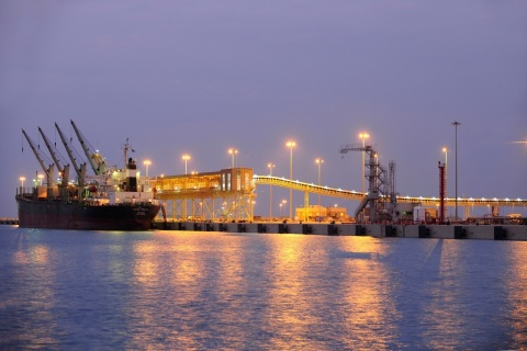Saudi Arabia's Rais Al Khair Industrial Port (Photo: AETOSWire)
