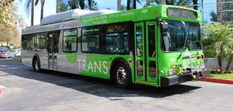 Iteris Selected to Provide Bus Signal Priority System for City of Gardena (Photo: Business Wire)