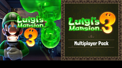 The Luigi's Mansion 3 Multiplayer Pack can now be pre-purchased for $9.99 in Nintendo eShop on the Nintendo Switch system, and it features waves of new themed ghosts for ScareScraper mode and new mini-games for ScreamPark mode. (Graphic: Business Wire)