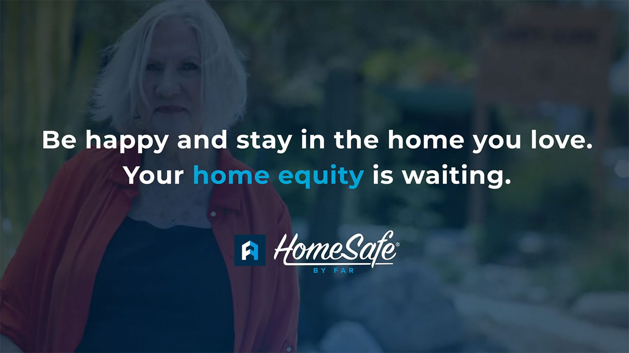 """Living in San Francisco for the past 46 years, Linda has found her happy place. """"I thought about it, what do I do? Do I sell the house, do I move to a smaller home? I said no, I want to live in my home."""" – Linda, Real HomeSafe Customer (Video: Business Wire)"""