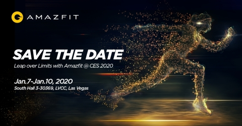 Amazfit Product Launch Event will be held at Wynn hotel, Jan 7 (Graphic: Business Wire)