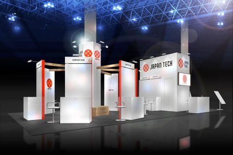 JAPAN TECH booth images (Graphic: Business Wire)