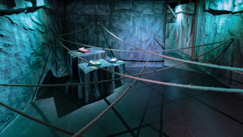 Real Stealth Game by SCRAP ~Trials of a Ninja~, NARUTO Collaboration in Shanghai (Photo: Business Wire)