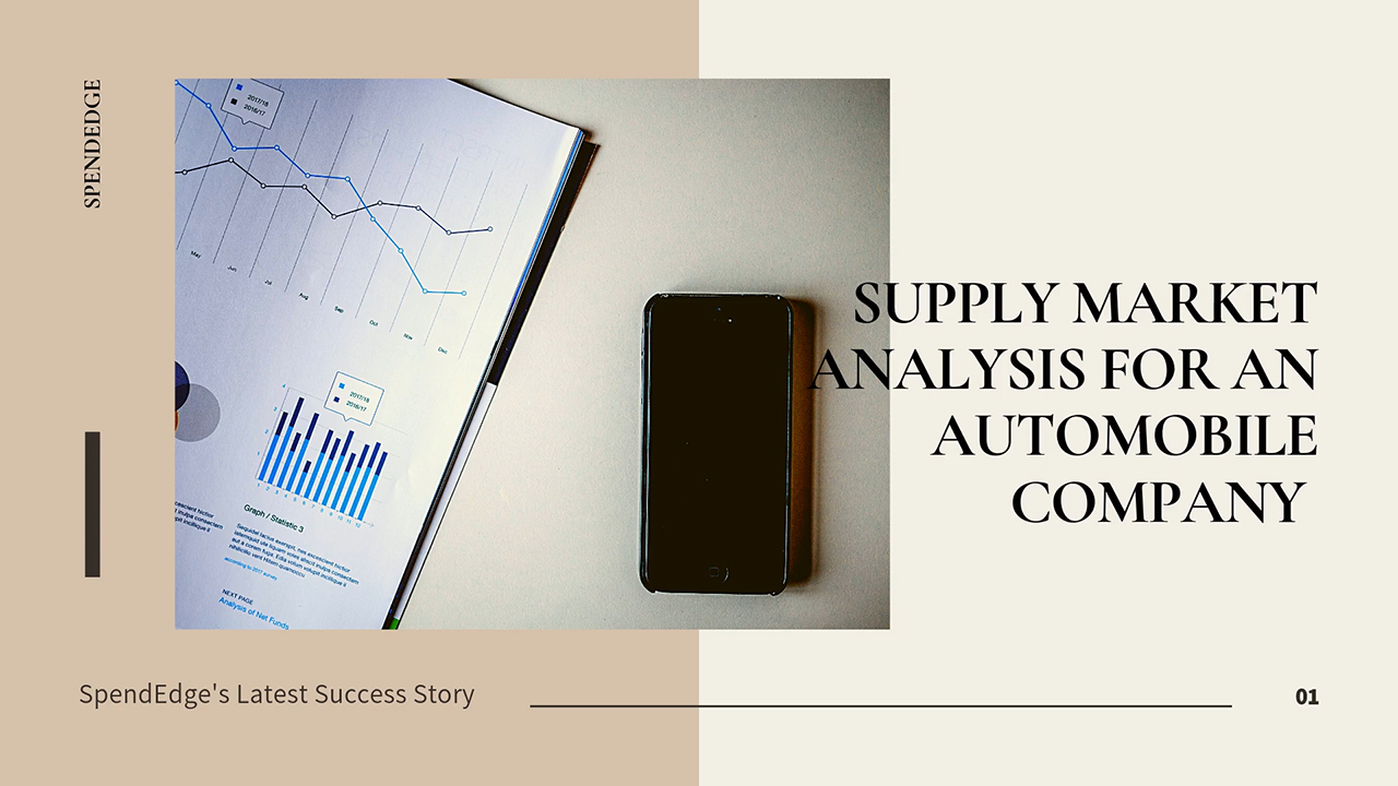 Supply Market Analysis for an Automobile Company.