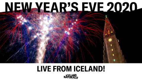 Head to Iceland Naturally's Facebook page at 6:45 p.m. EST / 3:45 p.m. PST on December 31 to watch more than 200,000 Icelanders ring in the new year with a world renowned fireworks display. (Photo: Business Wire)