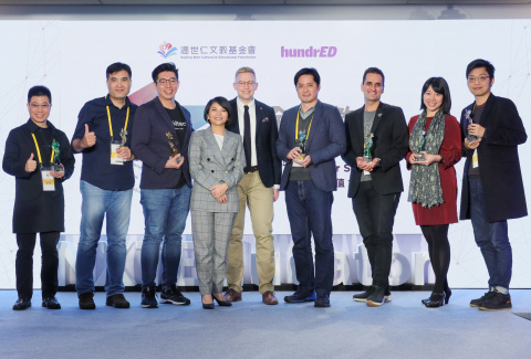 Sayling Wen Cultural & Educational Foundation Honors NXTEducator Global Educational Innovation Awards (Photo: Business Wire)