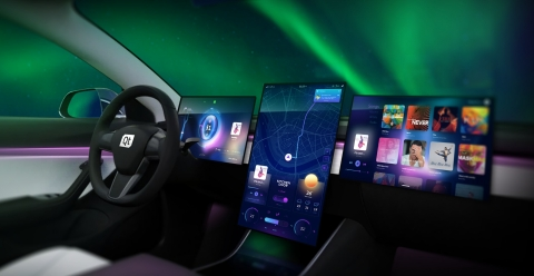 Qt presents the digital future of connected vehicles at CES 2020 (Graphic: Business Wire)