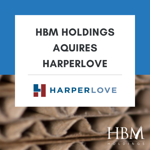 HBM Holdings completes the acquisition of HarperLove. This new addition expands HBM's portfolio of specialty manufacturing and service companies. (Photo: Business Wire)