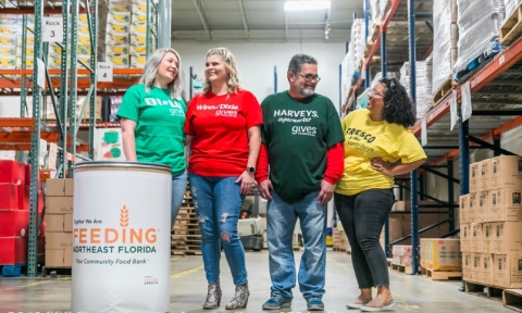 Southeastern Grocers, Inc. (SEG), parent company and home of BI-LO, Fresco y Más, Harveys Supermarket and Winn-Dixie grocery stores, has announced the donation of more than 23.1 million pounds of food provided to individuals and families in need in 2019 alone. (Photo: Business Wire)