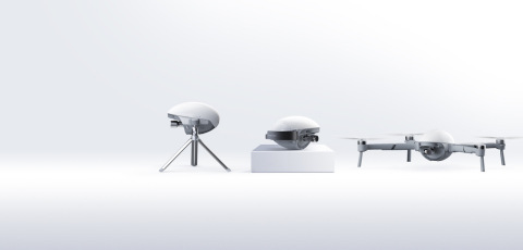 PowerVisoin's newest smart drone PowerEgg X creates a new category of all-in-one autonomous personal AI camera - It combines drone technology, HD camera technology, and AI technology for the ultimate drone experience. (Photo: Business Wire)