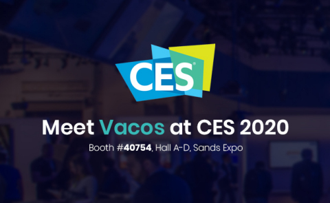 Vacos CES 2020 (Graphic: Business Wire)