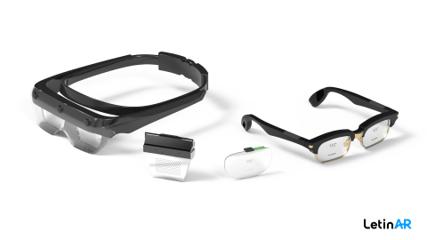 LetinAR PinMR™ Optical Solution for AR Devices (Photo: Business Wire)