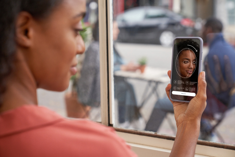 The NEUTROGENA Skin360 app combines advanced skin imaging, behavior coaching and artificial intelligence to empower consumers with actionable, personalized steps to help achieve their skin health goals. (Photo: Business Wire)