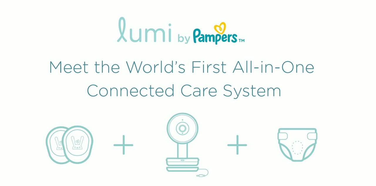 Lumi by Pampers is a revolutionary all-in-one connected care system that blends real-time data with intuition, helping parents anticipate their baby's needs.