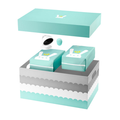 Lumi by Pampers is a revolutionary all-in-one connected care system that blends real-time data with intuition, helping parents anticipate their baby's needs. (Graphic: Business Wire)