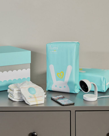 Lumi by Pampers is a revolutionary all-in-one connected care system that blends real-time data with intuition, helping parents anticipate their baby's needs. (Photo: Business Wire)