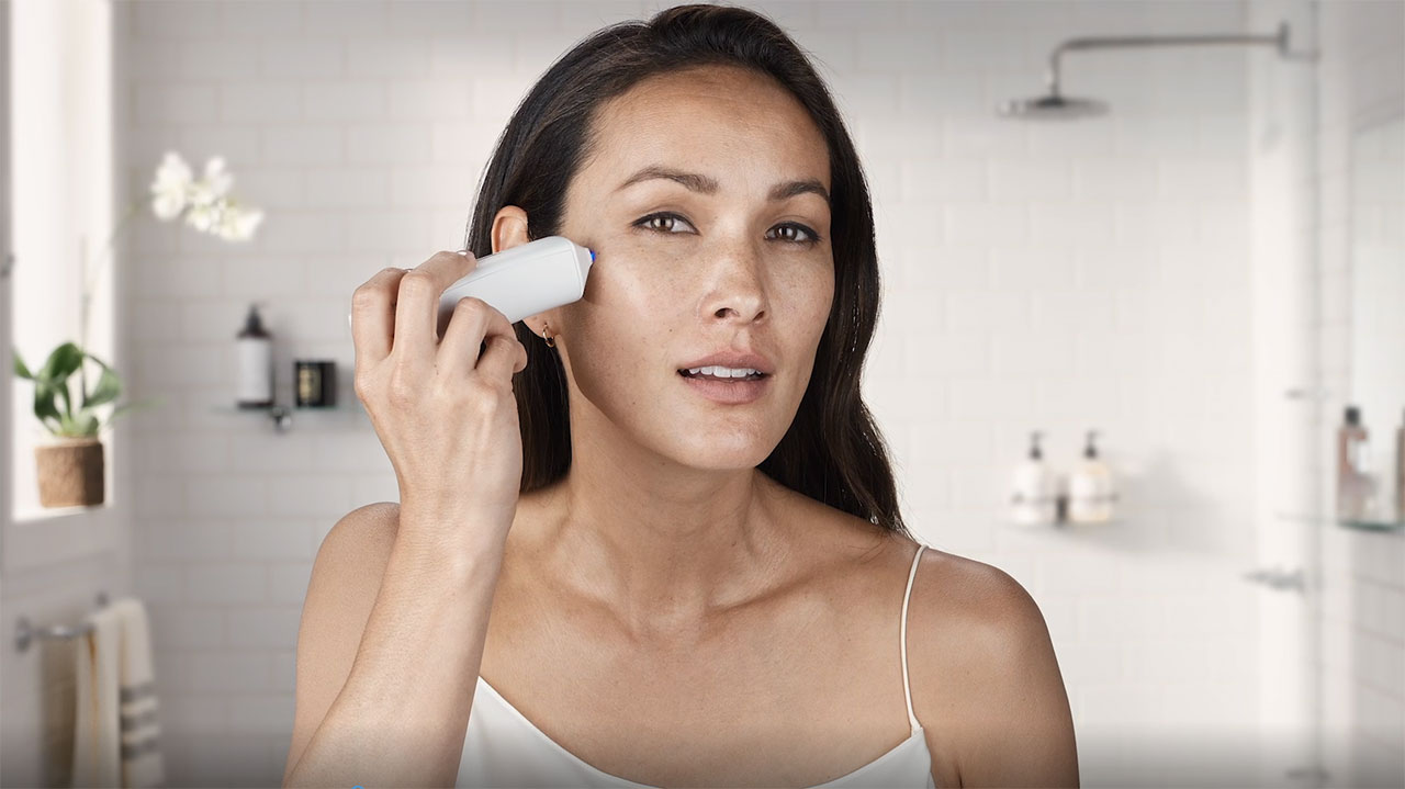 Opte Precision Skincare System is the first personalized handheld inkjet printer that scans, detects, and corrects hyper-pigmentation of your skin to reveal its natural beauty every day.