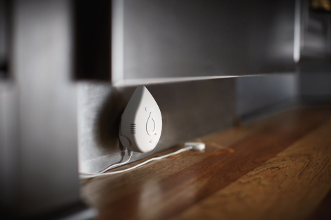 Moen and Flo Technologies launch new, affordable Flo by Moen Smart Water Detector to help provide whole home protection from water damage. (Photo: Business Wire)