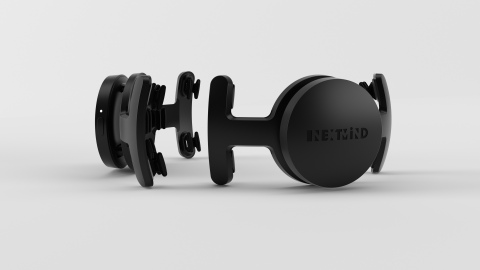 NextMind is at CES 2020 this week debuting the first real-time 'brain-sensing' BCI wearable that let's you control your digital world with just your thoughts. (Photo: Business Wire)