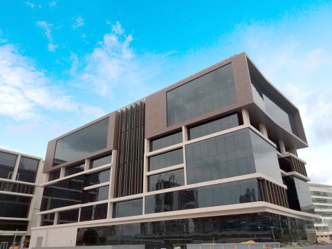 Featuring ultramodern facilities housed in an avant-garde architectural design, UOWD's new campus is set for launch in 2020 (Photo: AETOSWire)