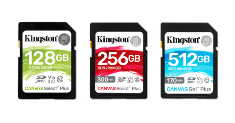 Kingston Technology Demos Upcoming UHS-II Cards, NVMe PCIe Gen 4.0 SSDs (Photo: Business Wire)