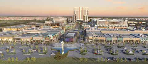 Dania Pointe, Kimco's 102-acre Signature Series mixed-use development in Dania Beach, Florida (Photo: Business Wire)