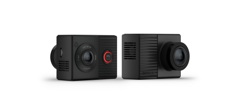 Introducing the dual-lens Garmin Dash Cam Tandem. (Photo: Business Wire)