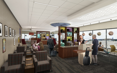 The Escape Lounge at Phoenix Sky Harbor International Airport (Photo: Business Wire)