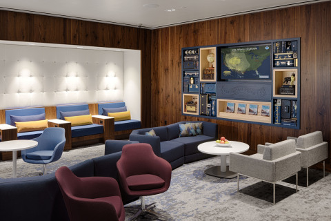 The Centurion Lounge at Phoenix Sky Harbor International Airport (Photo: Business Wire)