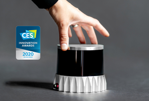 Ouster OS2 receives CES Innovation Award in Vehicle Intelligence and Technology (Photo: Business Wire)