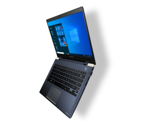 Weighing a mere 1.92 pounds, the Portégé X30L is the world's lightest 13.3-inch laptop with 10th Gen Intel® Core™ Processors and delivers the performance expected from a modern PC. Dynabook loaded the professional-grade Portégé X30L with the following high-performance options including 10th Gen Intel® hexa-core U Series processor, energy-efficient, 470NIT high-brightness IGZO display, Wi-Fi® 6 support, a full-suite of connectivity ports and a battery life rating of up to 14.5 hours on a single charge. (Photo: Business Wire)