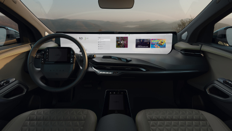 ACCESS and BYTON Driving In-Vehicle-Infotainment forward at CES 2020 (Photo: Business Wire)