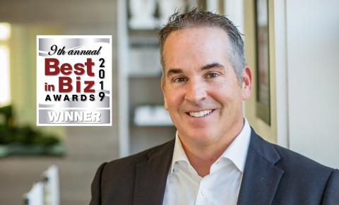 Brendan P. Keegan Wins Silver in 9th Annual Best in Biz Awards (Photo: Business Wire)