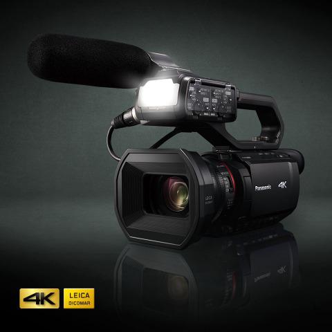 Panasonic HC-X2000 UHD 4K 3G-SDI/HDMI Pro Camcorder (Photo: Business Wire)
