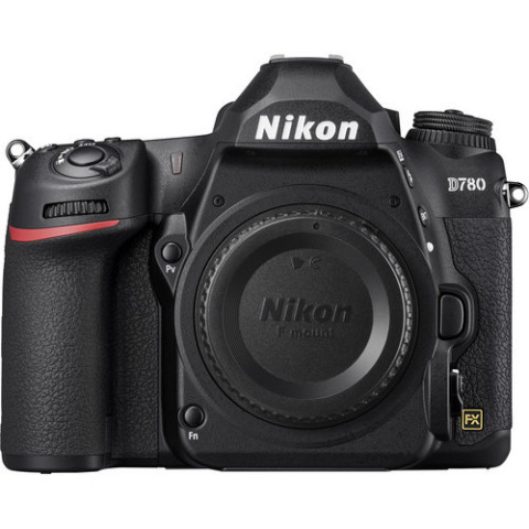 Nikon D780 is a versatile DSLR excelling in both photography and video applications. Featuring a 24.5MP full-frame CMOS sensor, high-resolution stills and video recording are possible, and the sensor features a BSI design for heightened clarity.