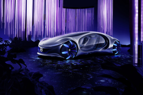 The Mercedes-Benz VISION AVTR. (Photo: Business Wire)