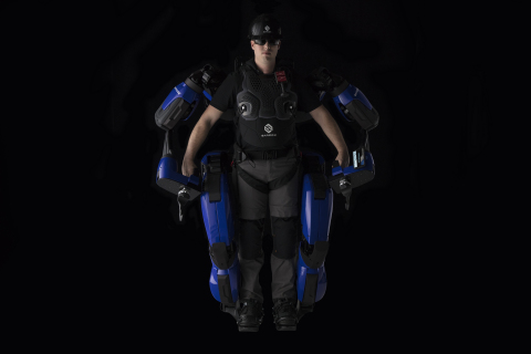 Sarcos Robotics Partners with Delta Air Lines to Bring First Public Demonstration of Guardian XO Full-Body, Force-Multiplying Industrial Exoskeleton Robot to CES 2020. (Photo: Business Wire)