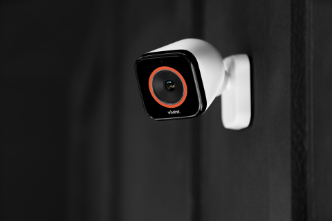 The Vivint Outdoor Camera Pro is an AI-powered security camera that intelligently detects and deters lurkers around your home. (Photo: Business Wire)