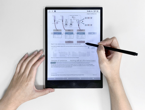 E Ink Announces Color Portfolio for Smart Retail, Education and Consumer Electronics (Photo: Business Wire)