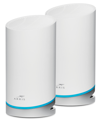 The SURFboard mAX® AX6600 Mesh Wi-Fi® 6 system. (Photo: Business Wire)